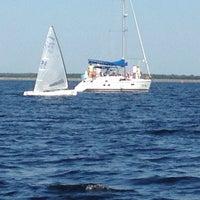 Photo taken at Яхт-клуб Энергетик by Tetiana T. on 7/29/2014