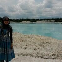 Photo taken at Tambang Kaolin, Belitung by Irra A. on 3/31/2014