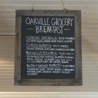 Photo taken at Oakville Grocery Co. by Marc B. on 3/25/2013