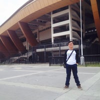 Photo taken at Stadion Utama Riau by Oki A. on 12/9/2016