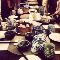 Photo taken at Radiance Tea House & Books by Jenny D. on 10/26/2013