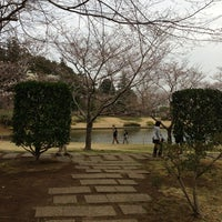 Photo taken at 八坂公園 by Norio T. on 3/20/2013