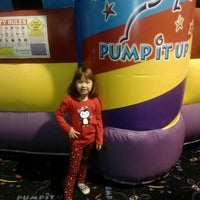 Photo taken at Pump It Up by Leslie G. on 11/12/2012