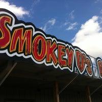 Photo taken at Smokey Ds BBQ by Sean W. on 4/13/2013
