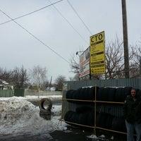 Photo taken at Шиномонтаж by Maksim O. on 2/17/2013