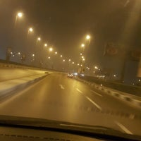 Photo taken at 6th October Bridge by Eslam F. on 10/31/2016
