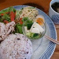 Photo taken at cafe USAGIYA by Nijimu A. on 7/13/2013