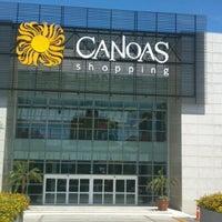 Photo taken at Canoas Shopping by Thiago S. on 12/31/2012