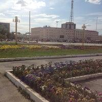 Photo taken at Площадь Ленина by Zmeeva N. on 7/19/2013
