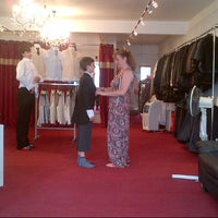 Photo taken at Yorkshire Menswear (Suit hire) by Charles A. on 7/13/2013