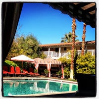 Photo taken at Colony Palms Hotel by Phyllis K. on 1/19/2013