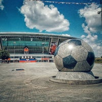 Photo taken at VIP-ложа Donbass arena by XBOCT on 6/20/2017