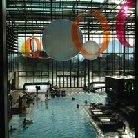 Photo taken at Therme Meran / Terme di Merano by Andrea P. on 12/23/2012