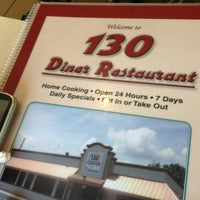 Photo taken at Route 130 Diner by Kiara P. on 7/7/2013
