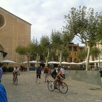 Photo taken at Plaça Major by Arkaitz G. on 10/13/2012