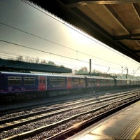 Photo taken at Hitchin Railway Station (HIT) by Nicola R. on 3/14/2013
