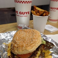 Photo taken at Five Guys by Guillermo Z. on 4/18/2014