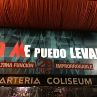 Photo taken at Teatro Arteria Coliseum by Fernando G. on 5/31/2014