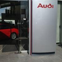 Photo taken at Audi Center Queretaro by Fernando G. on 6/11/2013