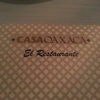 Foto tomada en Casa Oaxaca El Restaurante por Mauricio V. el 2/4/2013
