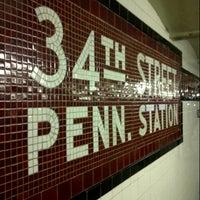 Photo taken at MTA Subway - 34th St/Penn Station (A/C/E) by King G. on 2/17/2013