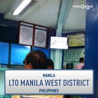 Foto tirada no(a) LTO Manila West District por Bochoc M. em 1/21/2014
