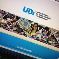 Photo taken at Universitaria de Investigación y Desarrollo UDI by Andrés M. on 11/25/2013