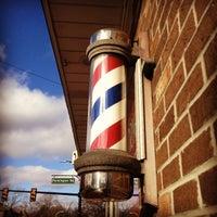 Photo taken at Korner Barbers by Don J. on 1/18/2013