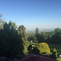 Photo taken at Falkenstein Grand Kempinski Hotel by Jean-Alexis S. on 5/8/2018