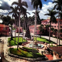 Photo taken at Boca Raton Resort and Club, A Waldorf Astoria Resort by Kimmy R. on 12/24/2012