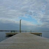 Photo taken at Ocean Gate Boardwalk by Jennifer G. on 2/1/2016