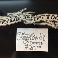 Photo taken at Taylor Street Tattoo by Edward A. on 7/25/2014