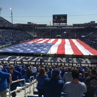 Photo taken at Commonwealth Stadium by Sara P. on 9/9/2017
