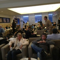 Photo taken at Delta Sky Club by Sara P. on 12/28/2012