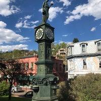 Photo taken at Wheeler Town Clock by Jam P. on 9/18/2018