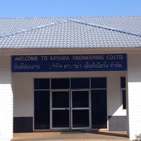 Photo taken at Kayama Engineering (Thailand)Co.Ltd New Factory by Pisit S. on 11/24/2014