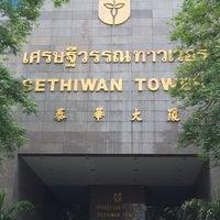 Photo taken at Sethiwan Tower by Pisit S. on 8/4/2015