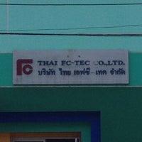 Photo taken at THAI FC-TEC CO.,LTD. by Pisit S. on 1/7/2015