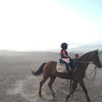 Photo taken at Lara Horse Clup Arena by Emirhan  I. on 10/2/2016