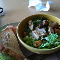 Photo taken at Panera Bread by Melissa F. on 3/30/2013
