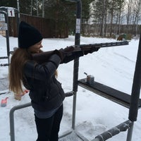 Photo taken at стрелковый клуб by М1 on 11/29/2014