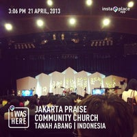 Photo taken at Jakarta Praise Community Church (JPCC) by Moe T. on 4/21/2013