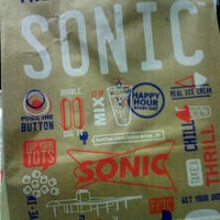 Photo taken at SONIC Drive In by $$$hawna M. on 3/3/2013