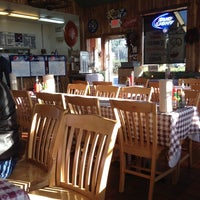 Photo taken at Jim Bob's Chuck Wagon by Jennifer B. on 12/4/2013