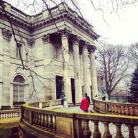 Photo taken at Marble House by Andrew P. on 12/8/2012