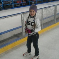 Photo taken at Ice Park by Тимур .. on 2/2/2013