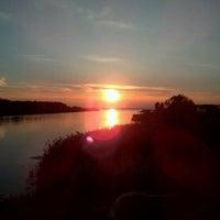 Photo taken at Набережная Финского залива by Тимур .. on 7/15/2013