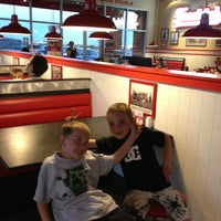 Photo taken at Freddy's Frozen Custard and Steakburgers by Michelle S. on 5/7/2013