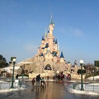 Photo taken at Kyriad À Disneyland® Paris by Rubén M. on 1/16/2013