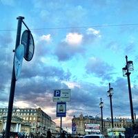 Photo taken at Sennaya Square by Дима ). on 4/25/2013